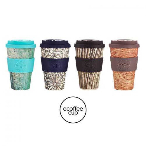 ecoffee cup stein & holz beker