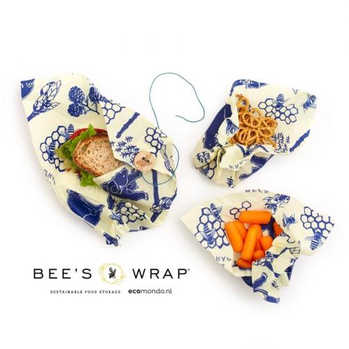 beeswrap bears bees Lunchpack