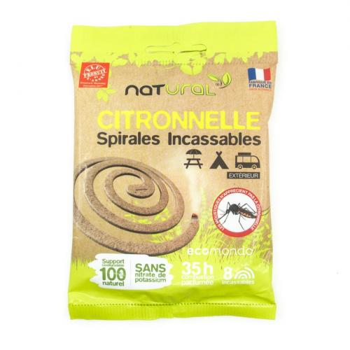 anti mug citronella spiraal Natural