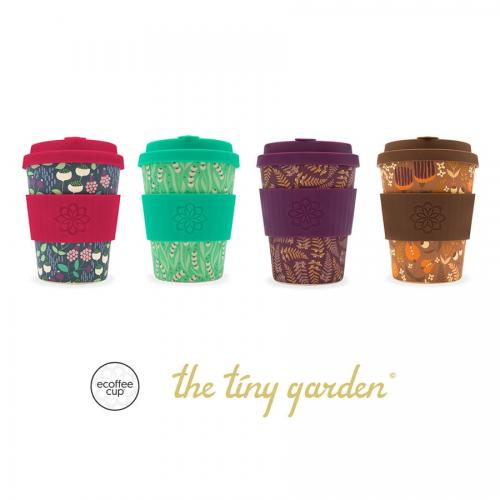 ecoffee cup tiny garden koffiebeker