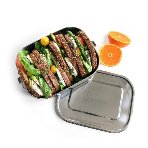 grote lunchbox rvs en lekvrij Made Sustained