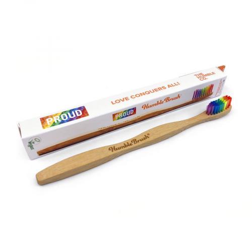 humble brush proud tandenborstel rainbow