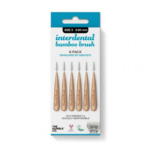 humble brush interdentale ragertjes van bamboe nr3